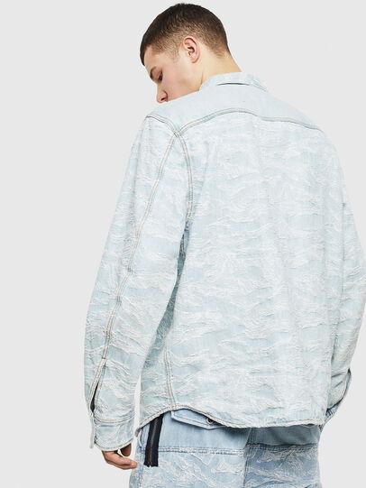Diesel - D-JESSY, Blu Chiaro - Camicie in Denim - Image 2
