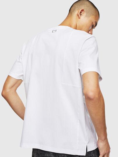 Diesel - T-TOMI, Bianco - T-Shirts - Image 2