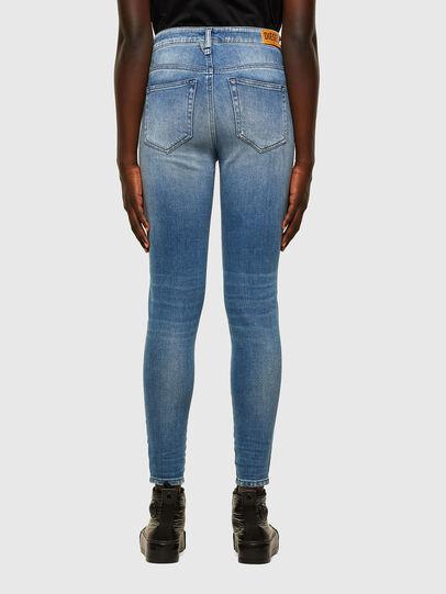 Diesel - Slandy High 009JI, Blu Chiaro - Jeans - Image 2