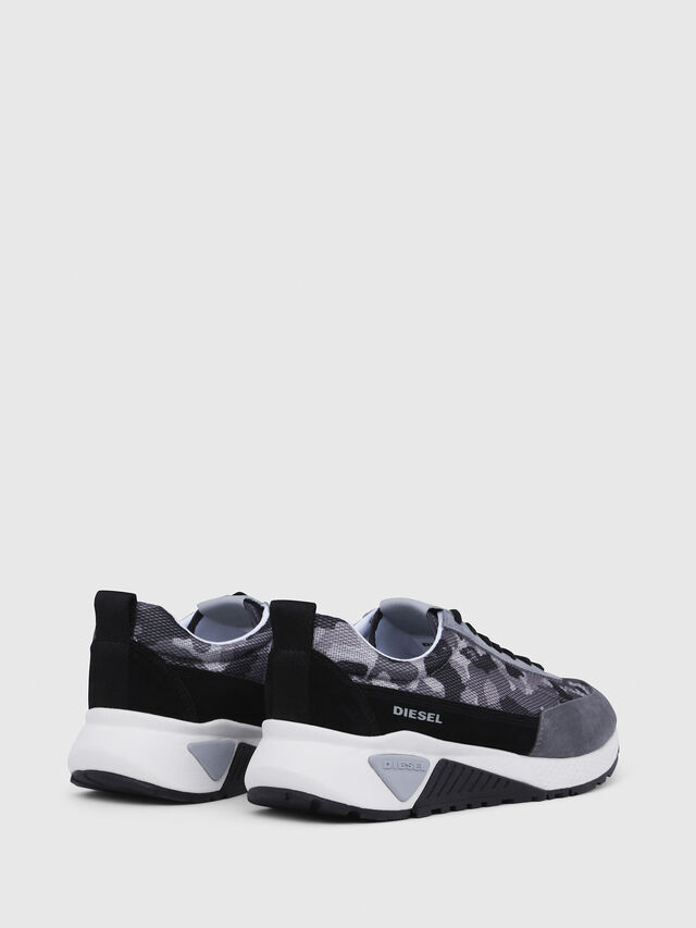 Diesel - S-KB LOW LACE, Grigio/Nero - Sneakers - Image 3