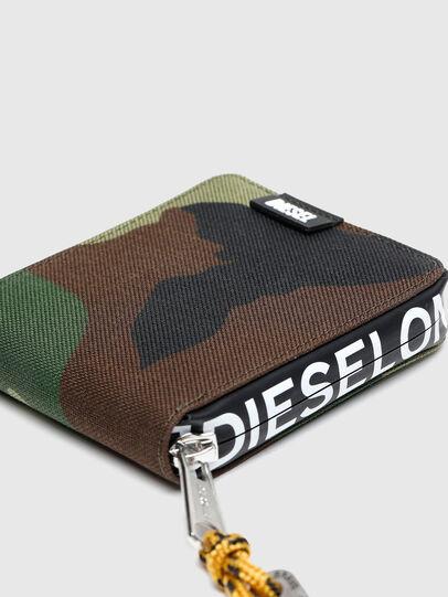 Diesel - HIRESH XS ZIPPI, Multicolor/Marrone - Portafogli Con Zip - Image 4