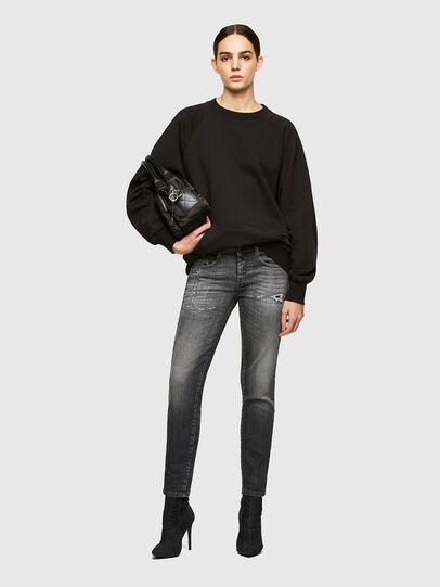 Diesel - D-Ollies JoggJeans® 009QT, Nero/Grigio scuro - Jeans - Image 5