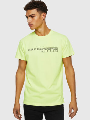 T-DIEGO-SLITS-J6, Giallo Fluo - T-Shirts