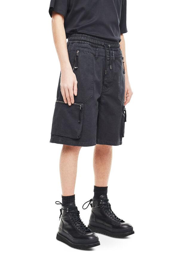 Diesel - PHILOS, Nero - Shorts - Image 3