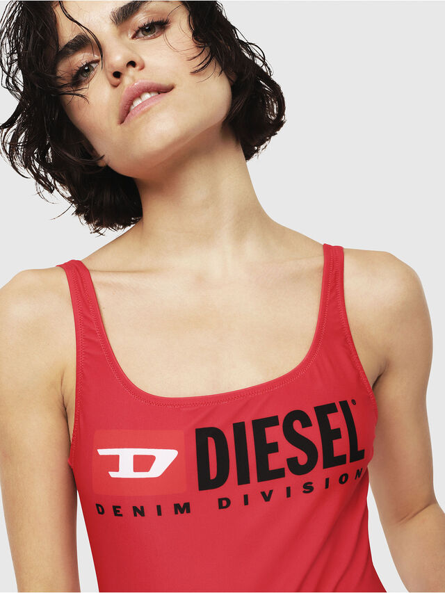 Diesel - BFSW-FLAMNEW, Rosso - Costumi - Image 3
