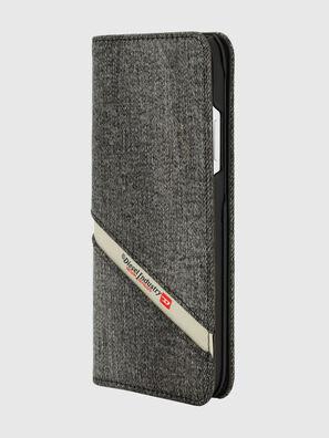 DIESEL 2-IN-1 FOLIO CASE FOR IPHONE XR, Grigio - Cover a libro