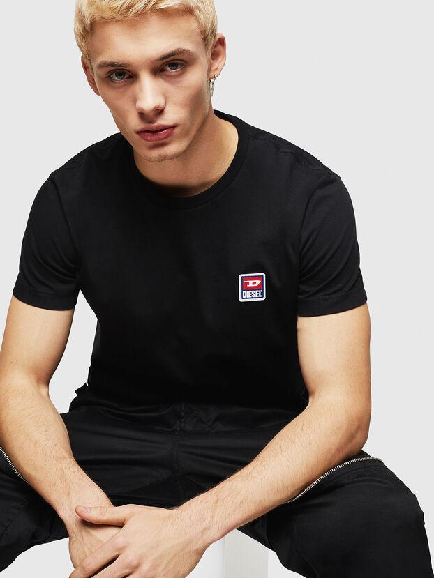 T-DIEGO-DIV, Nero - T-Shirts