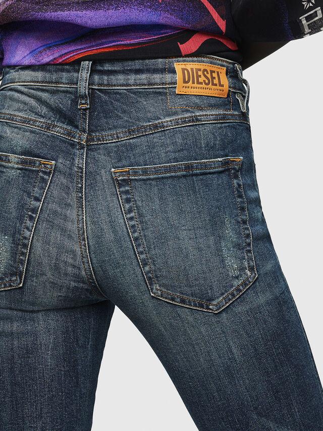 Diesel - Babhila 069GC, Blu Scuro - Jeans - Image 5