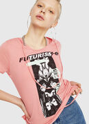 T-EMIKO-C, Rosa - T-Shirts