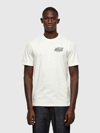 Diesel - T-JUST-A33, Bianco - T-Shirts - Image 1