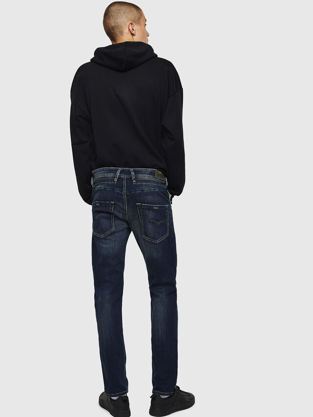 Diesel Belther 0814W, Blu Scuro - Jeans - Image 2