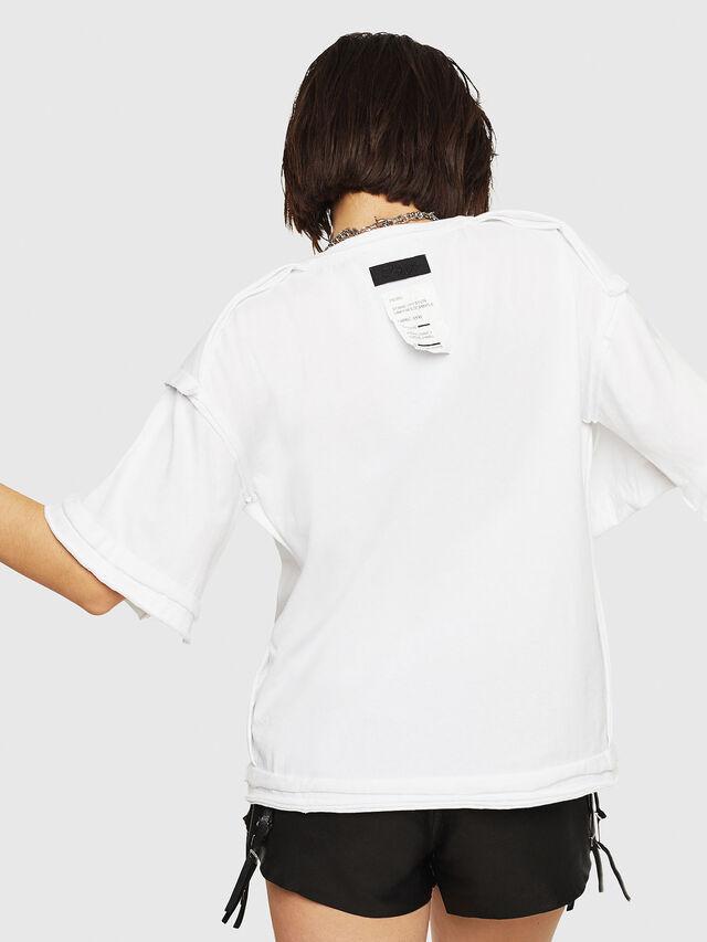 Diesel - T-JACKY-G, Bianco - T-Shirts - Image 2