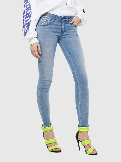 Diesel - Slandy Low 0096L, Blu Chiaro - Jeans - Image 1