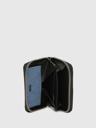 Diesel - CRASSU, Nero/Blu - Portafogli Con Zip - Image 3