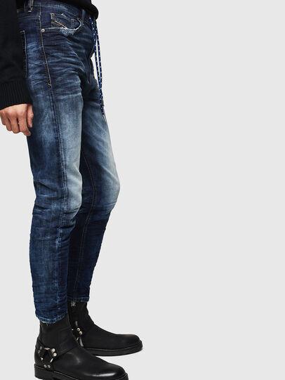 Diesel - D-Vider JoggJeans 069KD, Blu Scuro - Jeans - Image 4