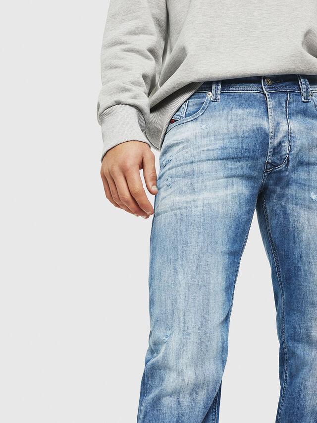 Diesel - Larkee 081AS, Blu Chiaro - Jeans - Image 3