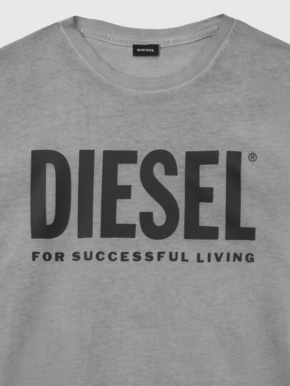 Diesel - T-SILY-WX, Grigio scuro - T-Shirts - Image 3