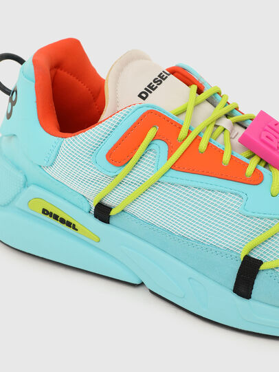 Diesel - S-SERENDIPITY LACE, Azzurro - Sneakers - Image 4