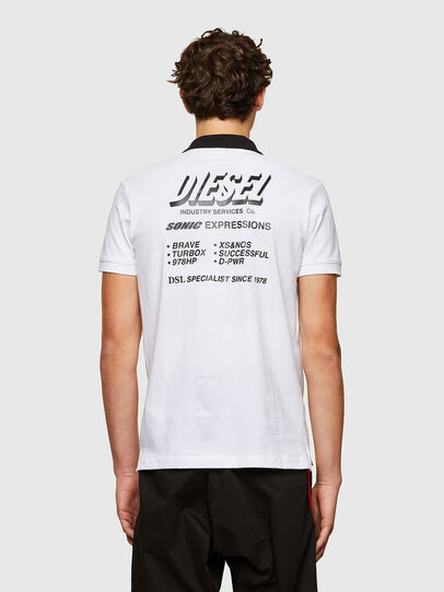 Diesel - T-RANDY-NEW-A1, Bianco - Polo - Image 2