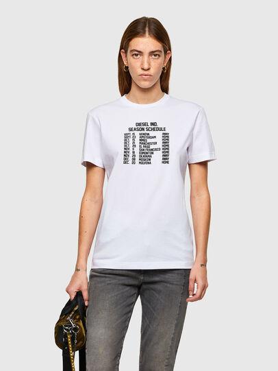 Diesel - T-DIEGOS-A11, Bianco - T-Shirts - Image 1