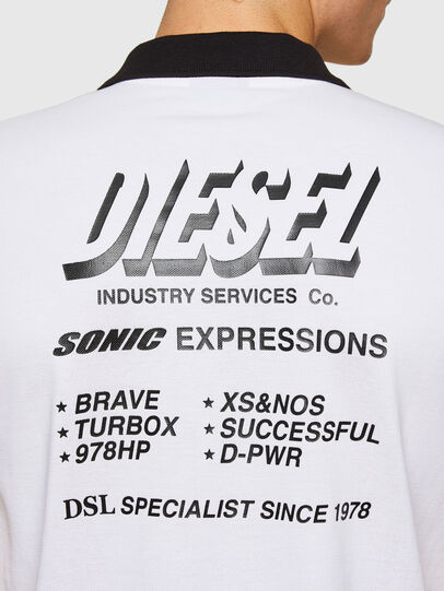 Diesel - T-RANDY-NEW-A1, Bianco - Polo - Image 3