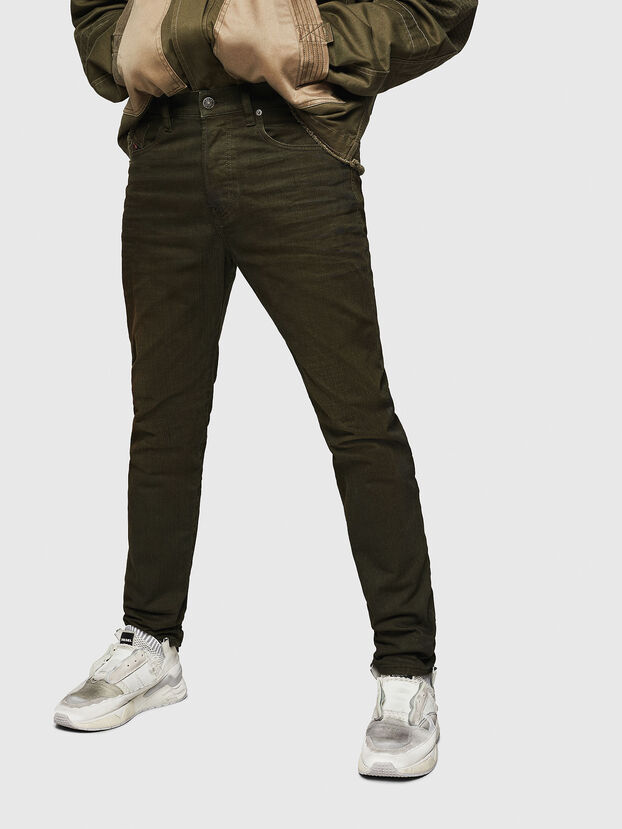 Mharky 0078D, Verde Militare - Jeans