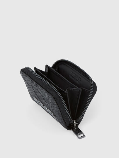 Diesel - JAPAROUND, Nero - Portafogli Con Zip - Image 4