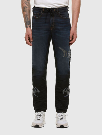 Diesel - D-Vider JoggJeans 009HE, Blu Scuro - Jeans - Image 1