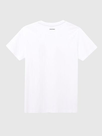 Diesel - UFTEE-ELODIE, Bianco - T-Shirts - Image 2