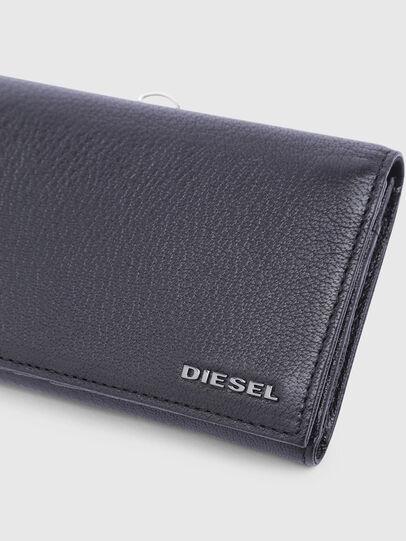 Diesel - 24 A DAY, Nero - Portafogli Continental - Image 4