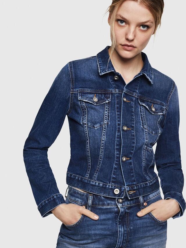 Diesel - DE-LIMMY, Blu Jeans - Giacche in denim - Image 1