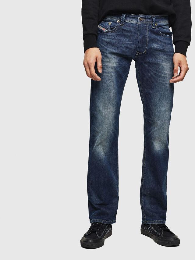 Diesel - Larkee 0853R, Blu Scuro - Jeans - Image 1