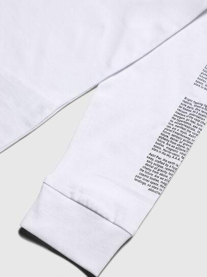 Diesel - TJUSTLS-NEW, Bianco - T-shirts e Tops - Image 4