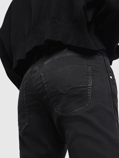 Diesel - Krailey JoggJeans 0687Z, Nero/Grigio scuro - Jeans - Image 4