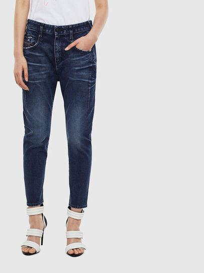 Diesel - Fayza 009BY, Blu Scuro - Jeans - Image 1