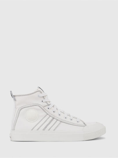 Diesel - S-ASTICO MID LACE, Bianco - Sneakers - Image 1