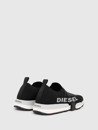 Diesel - H-PADOLA LOW SOCK, Nero - Sneakers - Image 3