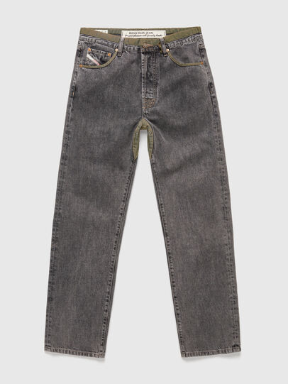 Diesel - DxD-P3 0CBBH, Nero/Grigio scuro - Jeans - Image 1