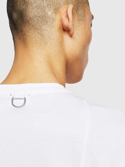 Diesel - T-TOMI, Bianco - T-Shirts - Image 5