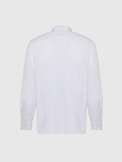 Diesel - S-JAMES, Bianco - Camicie - Image 2