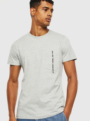 T-RUBIN-POCKET-J1, Grigio - T-Shirts