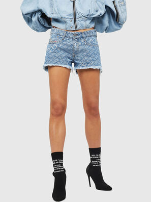 DE-RIFTY, Blu Chiaro - Shorts