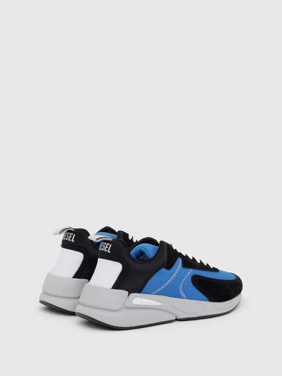 Diesel - S-SERENDIPITY LOW CU, Nero/Blu - Sneakers - Image 3