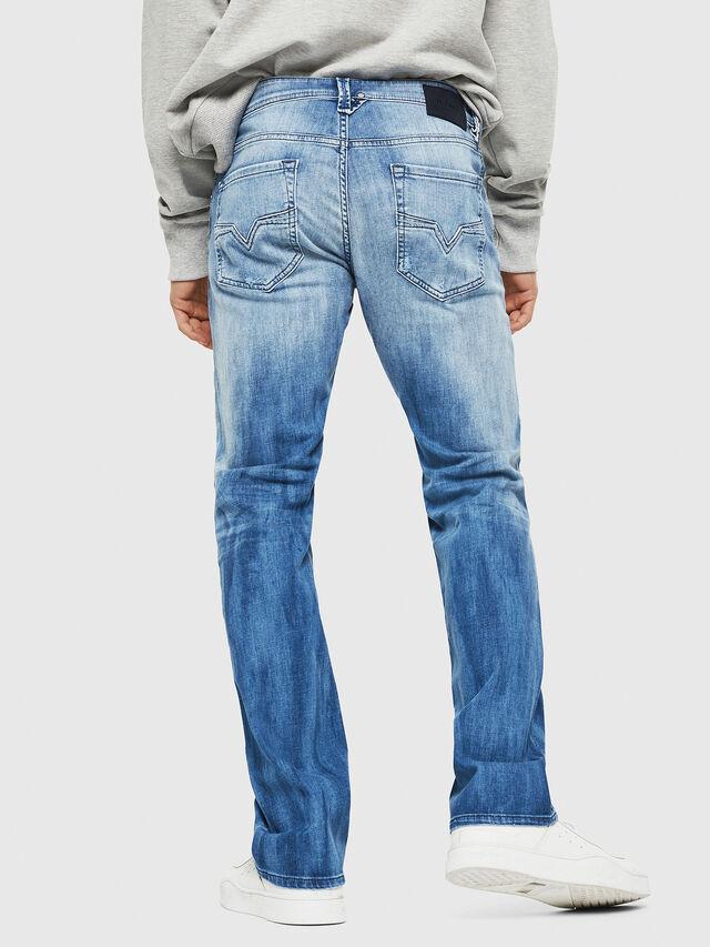 Diesel - Larkee 081AS, Blu Chiaro - Jeans - Image 2