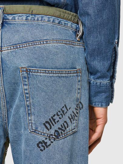 Diesel - DxD-P2 0CBBI, Blu Chiaro - Jeans - Image 4