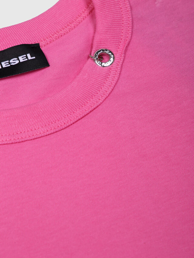 Diesel - TOCLE, Fucsia - T-shirts e Tops - Image 3