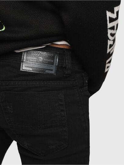 Diesel - Safado C69AC, Nero/Grigio scuro - Jeans - Image 3
