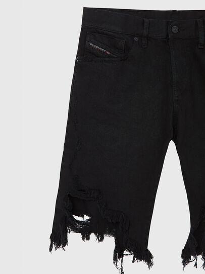 Diesel - D-KRASY, Nero - Shorts - Image 3