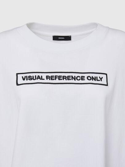 Diesel - T-CRAMBLE, Bianco - T-Shirts - Image 3