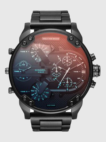 Mr. Daddy 2.0 orologio con dettagli neri, 57 mm